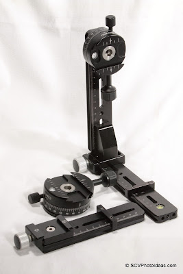 Benro PC-1 & PC-0 used in a Multi-Row Panorama head structure Ver II