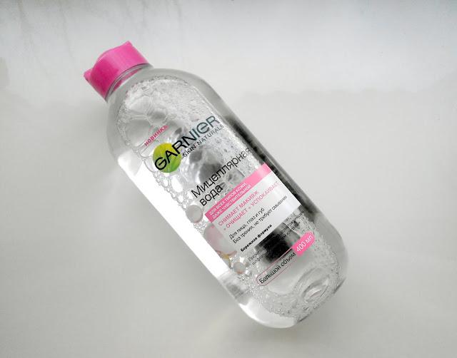 Мицеллярная вода от Garnier