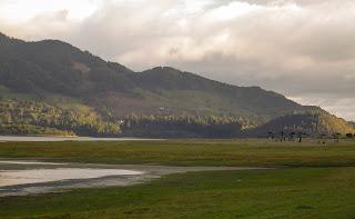 Río Bogotá al norte de la Sabana