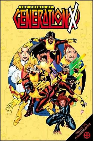 X-MEN ORIGIN OF GENERATION X TP