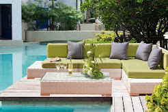 Nos Salons de Jardin en résine tressée Collection Chloé Design