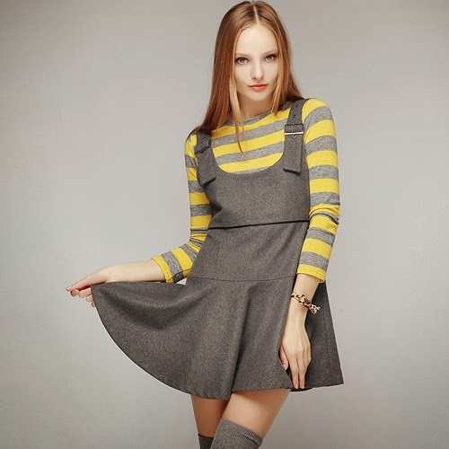 Soft Touch Overall Skirt