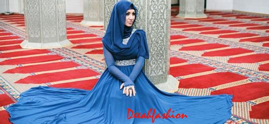 Baju Pengantin Muslim ala India Mahabarata