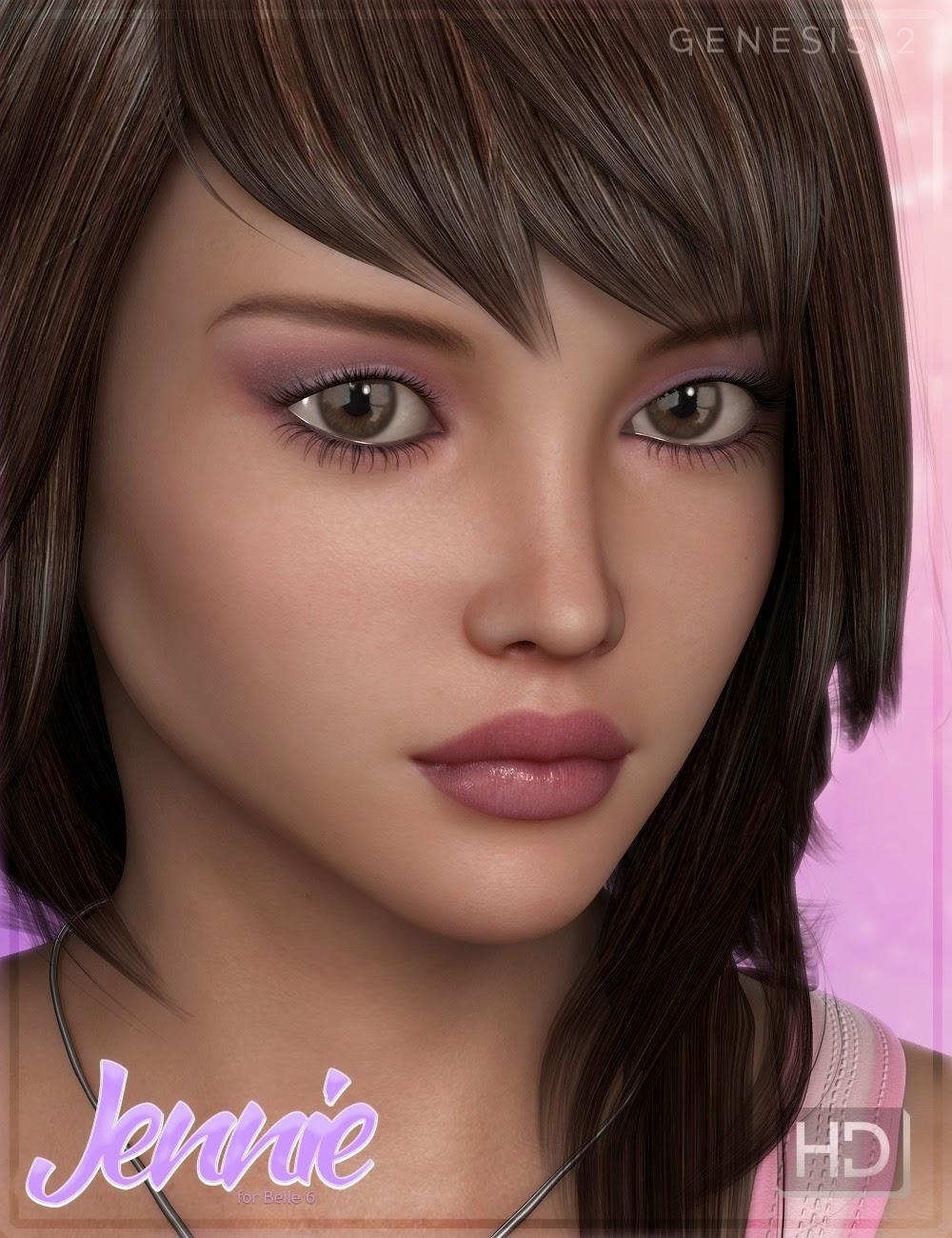 FW Jennie HD pour Belle 6
