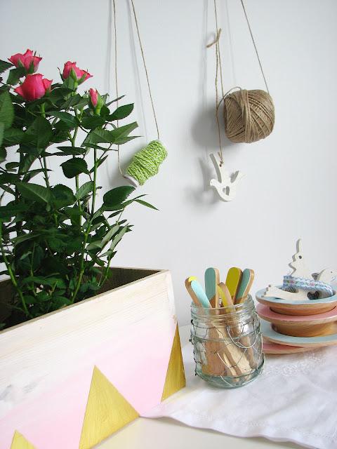 ahşay çiçeklik yapımı