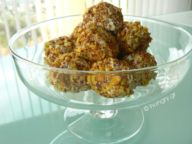 Pistachio Cheese Balls