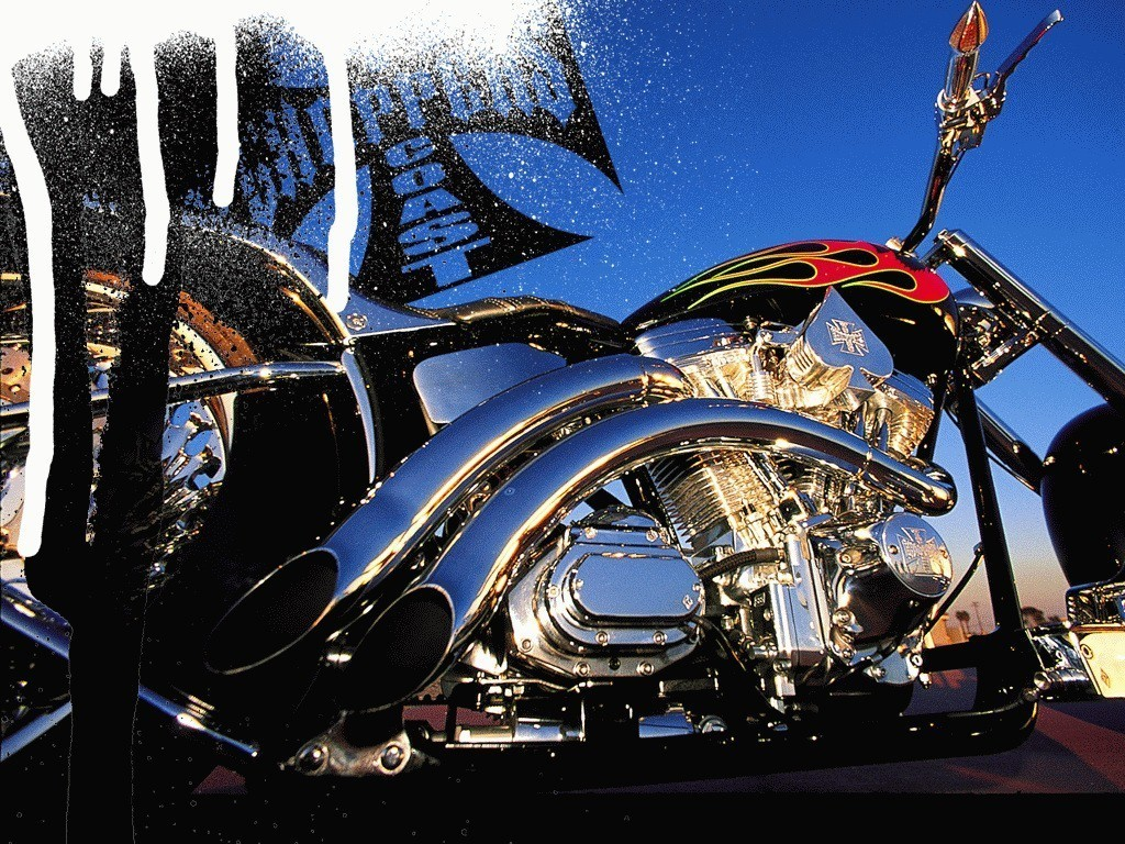 Auto Stark Bikes American Chopper Bikes Wallpapers