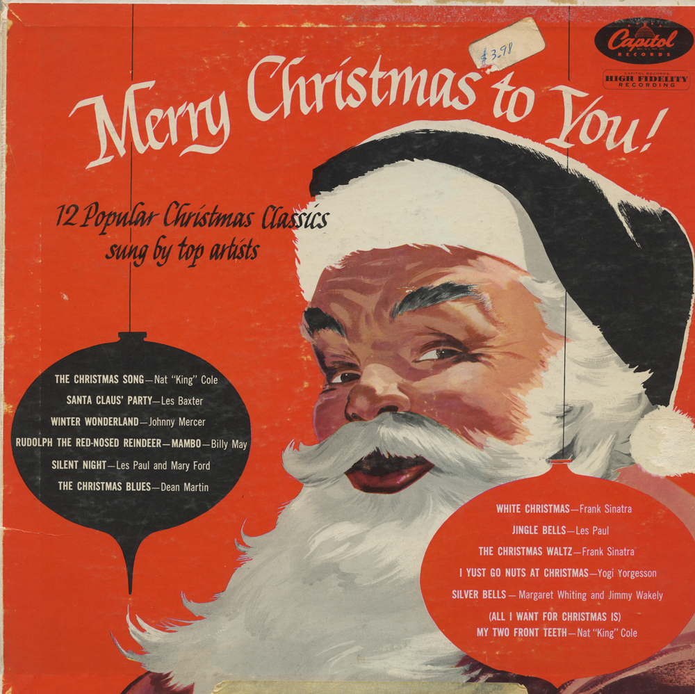 Neato Coolville: CHRISTMAS ALBUM COVERS