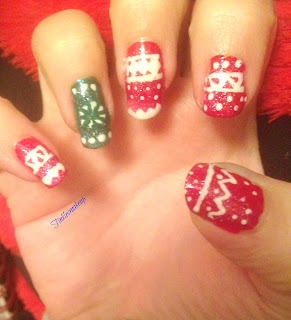 winter_sweater_pattern_nail_art