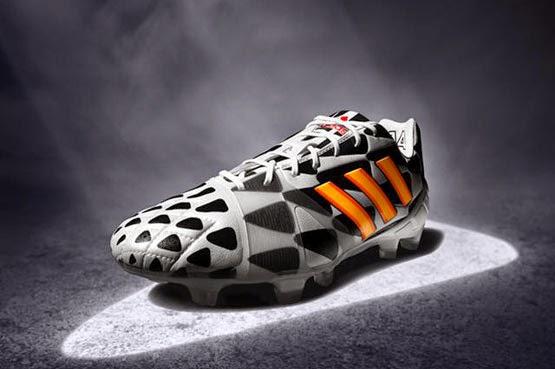 botas de fútbol adidas Nitrocharge 1.0 FG Boots Battle Pack colección Copa Mundial Brasil