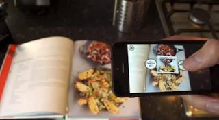 Realidad aumentada en libros Chec Jamie Oliver
