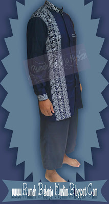 Baju Koko Formal Motif Birdong