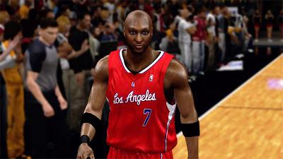 NBA 2K13 Lamar Odom Cyberface Mod