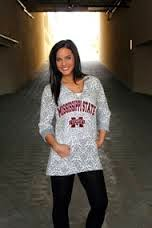 Shawna Feddersen designer for Game Day Couture Sports apperal.