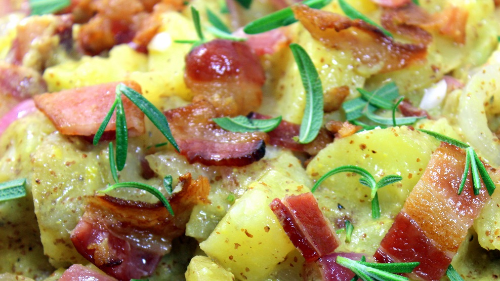 Year on the Grill: Country Dijon Bacon Potato Salad - 52 Side Dishes ...