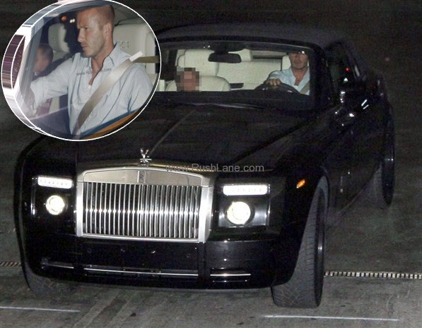 Clever Bulletin David Beckham S Rolls Royce For Sale At A