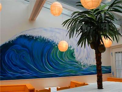 custom wall mural - maria dominquez - mural artists