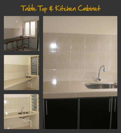 Kabinet dapur and table top design kitchen cabinet review for Table top kitchen cabinet