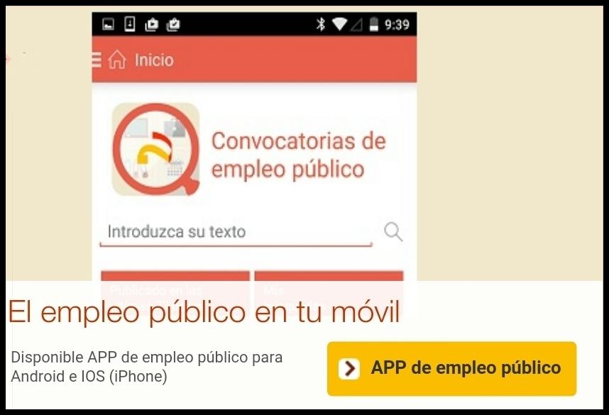 APP- MOVIL  Empleo Público
