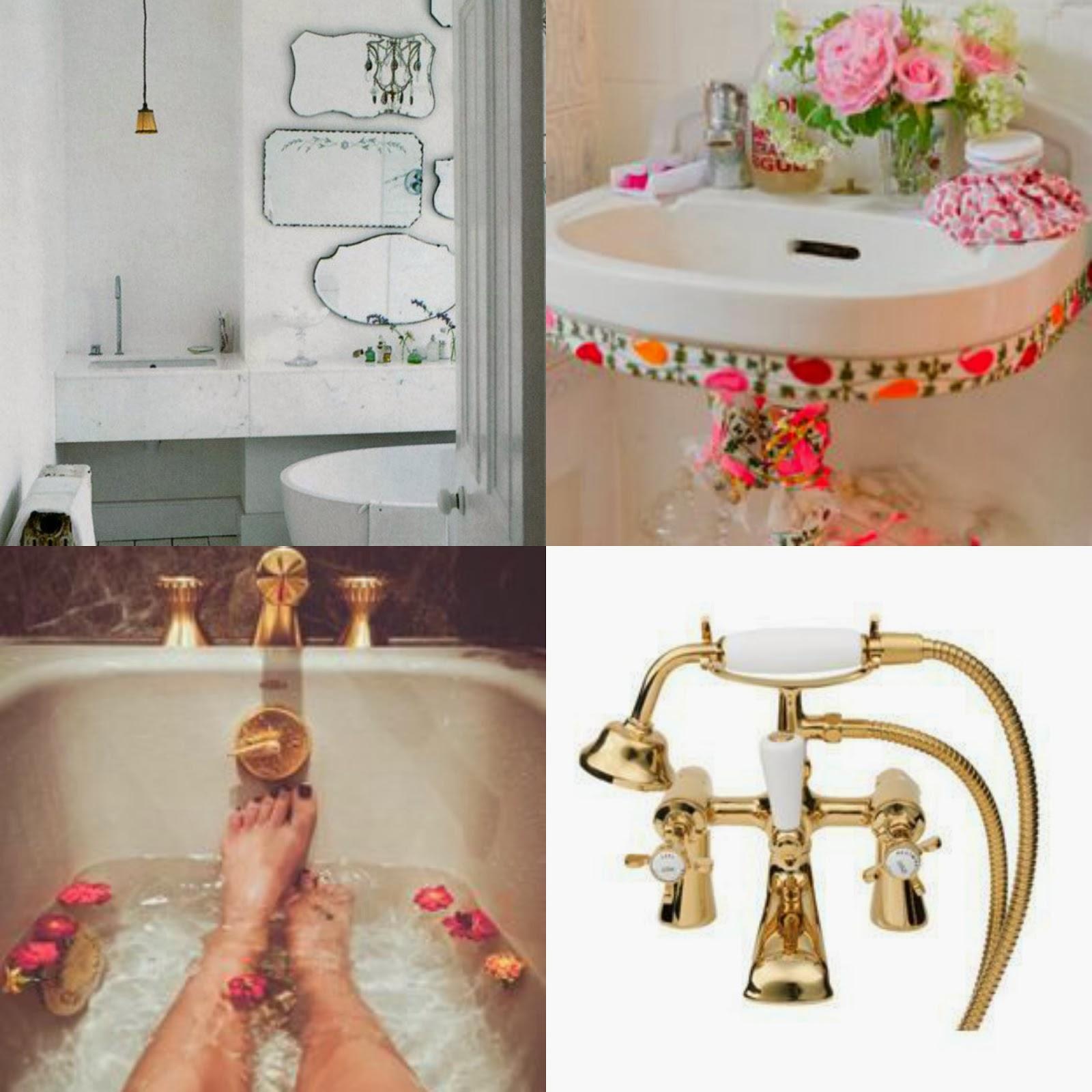 Romantic Style Bathrooms. Selina Lake  Romantic Style Bathrooms