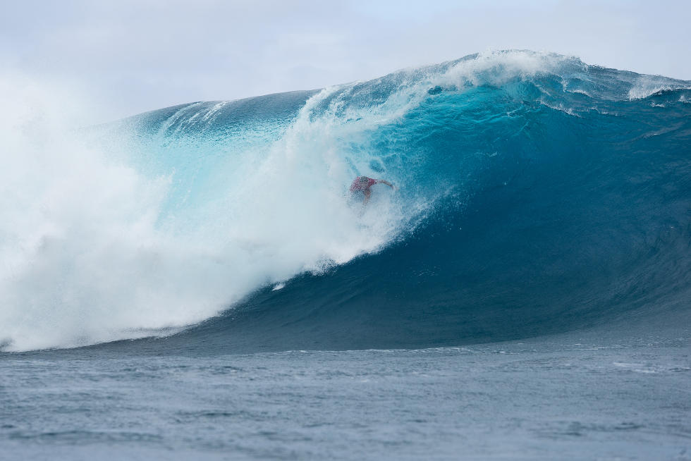 21 Mick Fanning Billabong Pro Tahiti 2015 Foto Stephen Robertson