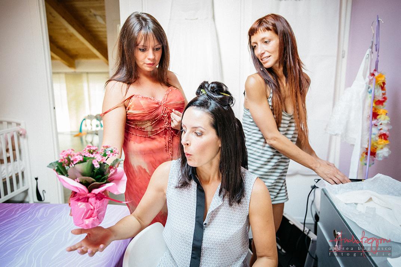 fotografo matrimonio savona preparazione sposa