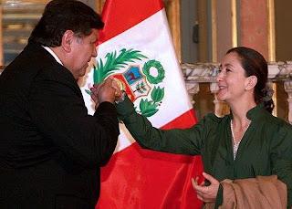 Ingrid Betancourt y Alan García Pérez