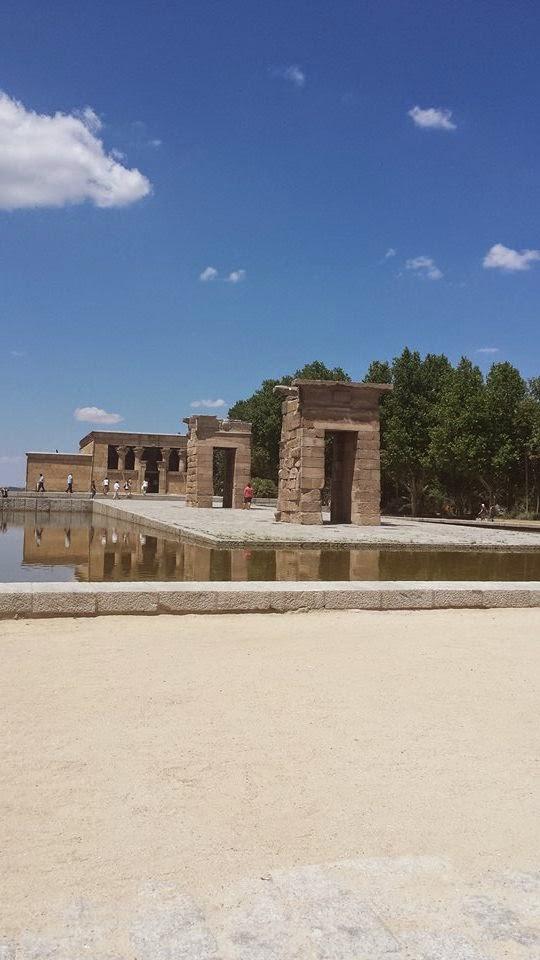Temple de Debod Madrid, Egypte, vestige de l'Egypte, dieu Amon de Debod
