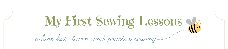 My First Sewing Lessons