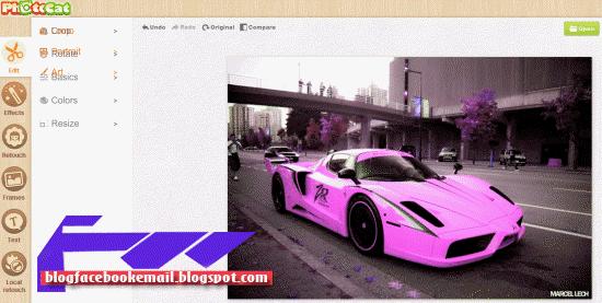 aplikasi edit foto online fotor.com
