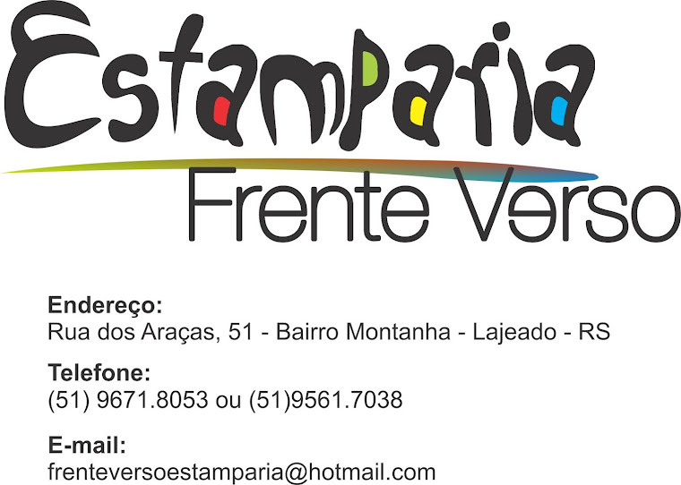 Frente Verso Estamparia
