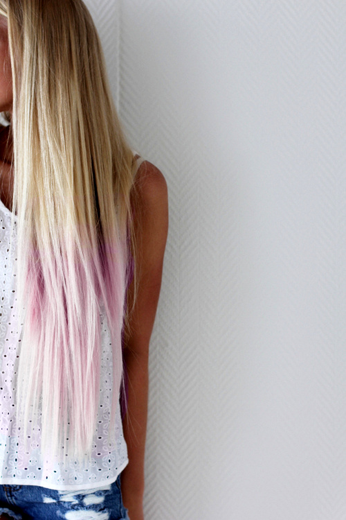 puntas+rubias+teñidas+de+rosa