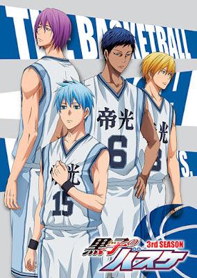 Kuroko no Basket _ Capa da 3 temporada Hotaku News