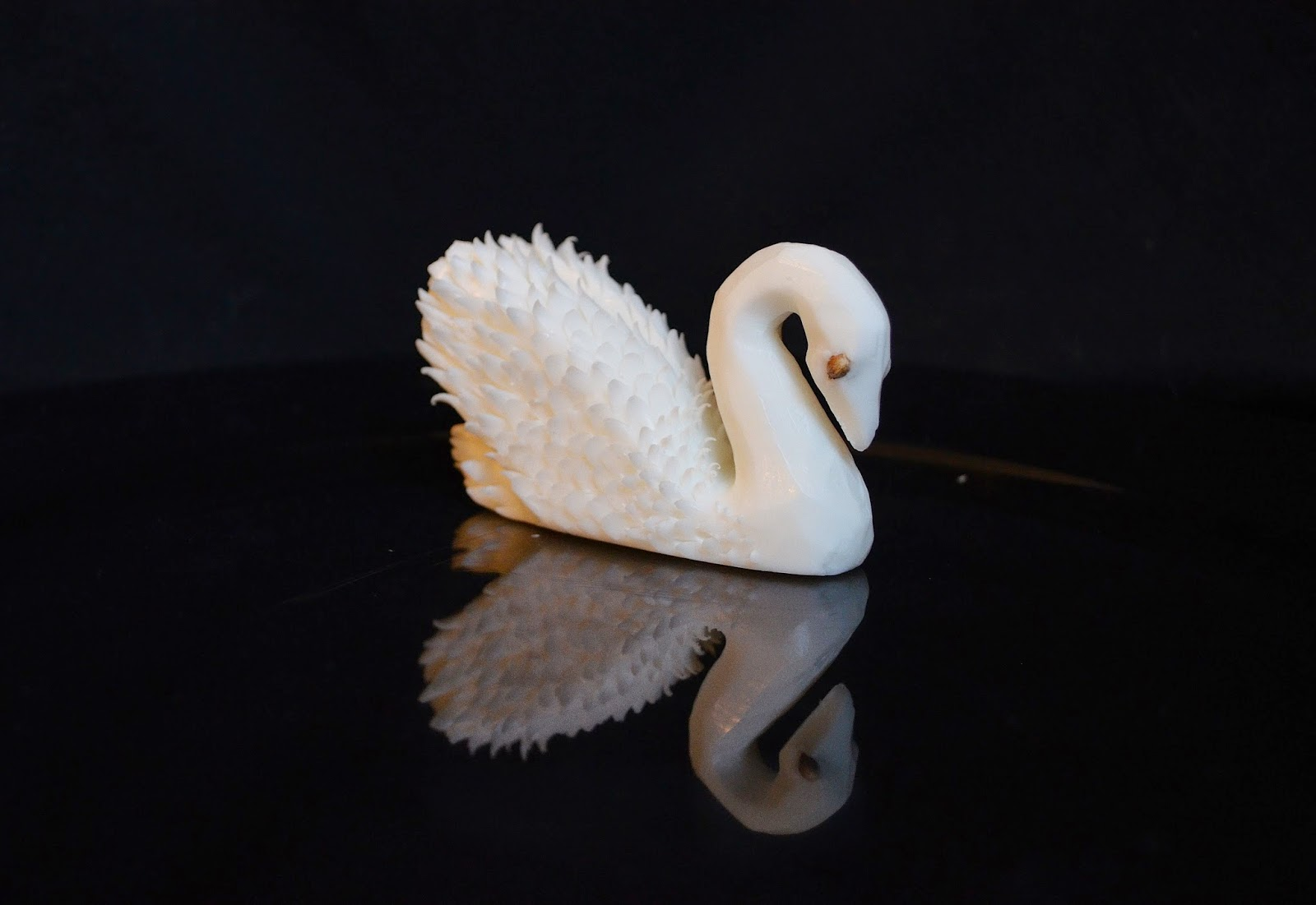 Food carving ivelin stanchev soap swan by