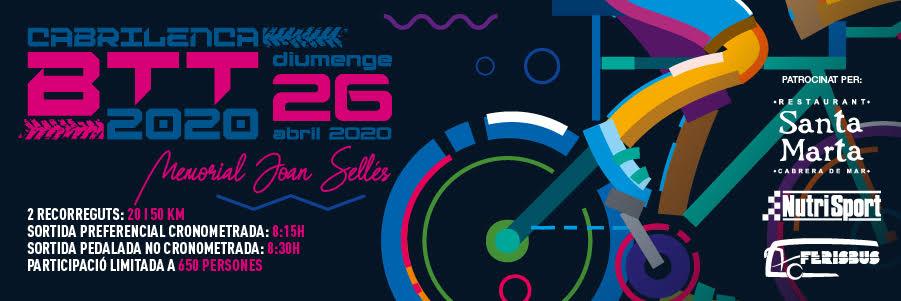 I si també t'agrada pedalar, guarda't la data de la Cabrilenca BTT 2019: 26d'abrilde 2020