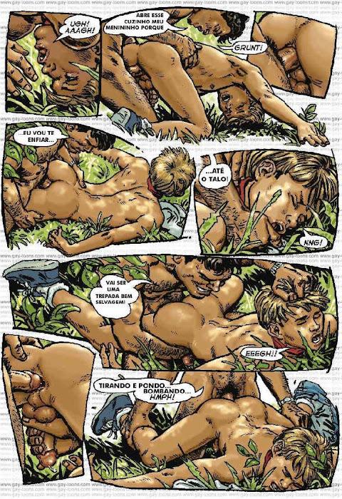 Oliver Frey cartoons Motoqueiro Parte 2