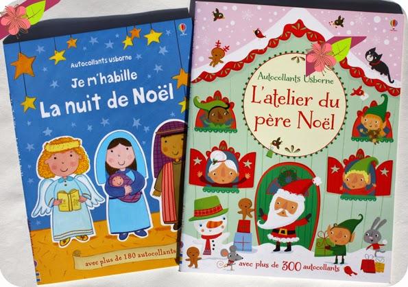 """""""L'atelier du père Noël"""" et """"Je m'habille : La nuit de Noël"""" - éditions Usborne"""