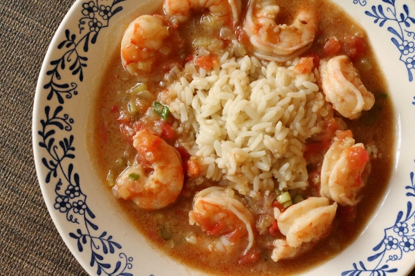 Mission food besh big easy new orleans shrimp touffe after recently dining on excellent cajun and creole food at boatwrights dining hall at disneys port orleans resort riverside ive been anxious to forumfinder Image collections
