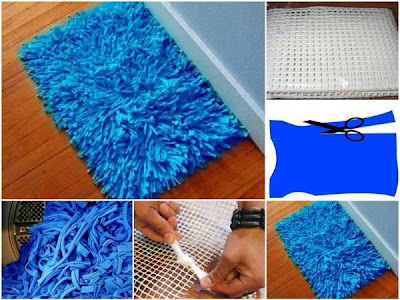 DIY Eco Bath Rug