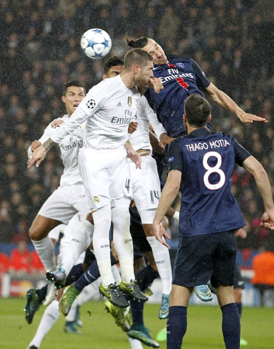 PSG 0 x 0 Real Madrid - Champions League 2015/16