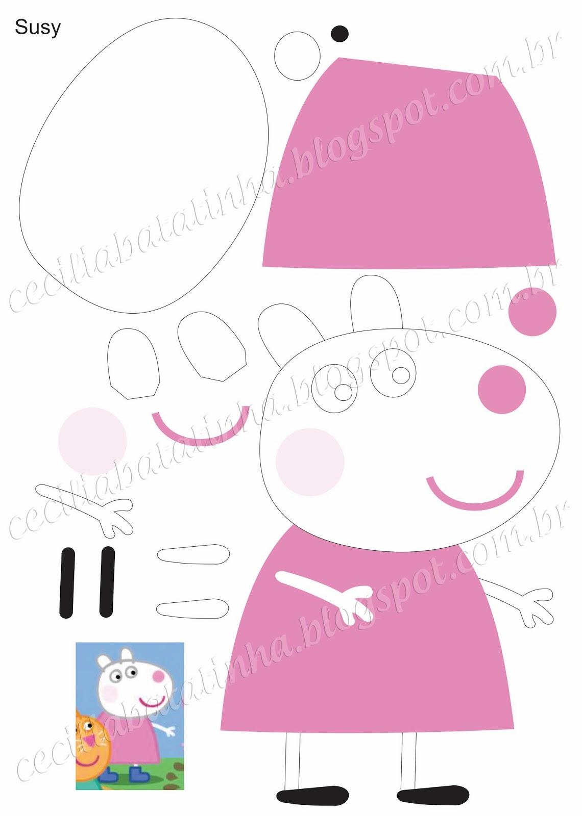 Свинка пеппа своими руками из бумаги