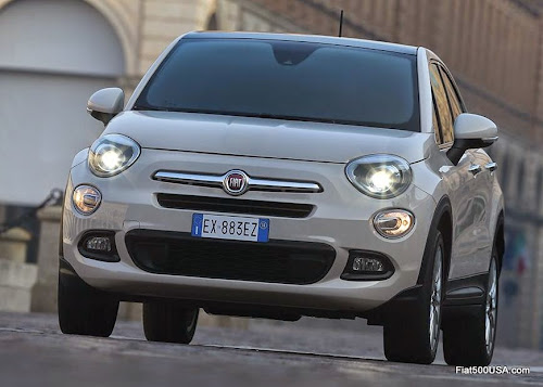 Fiat 500X in the City