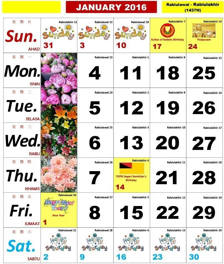 Kalendar Kuda 2016 Related Keywords & Suggestions - Kalendar Kuda 2016 ...
