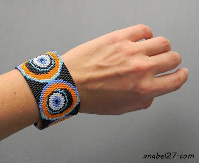 украшения из бисера купить подарок девушке браслет