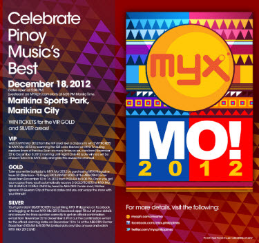 MYX Mo! 2012 on December 18 at Marikina Sports Park