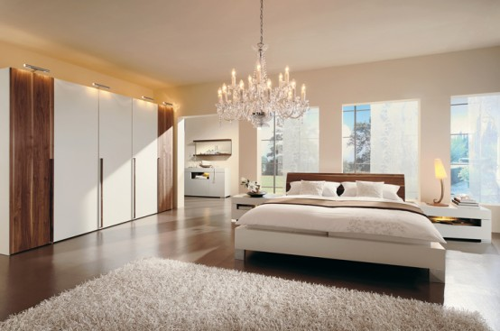 Source wooden flooring bedroom style with a bright morning view
