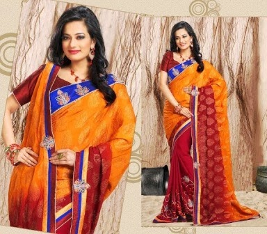 Colorful Indian Sarees