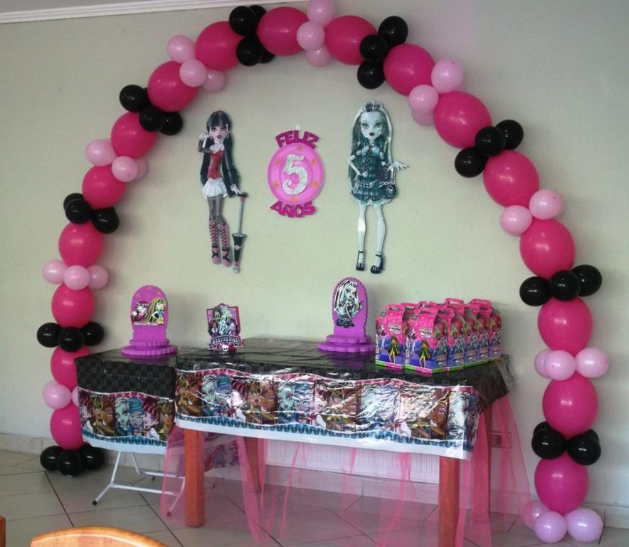 Eventos para tu Bebé: Cumpleaños Monster High