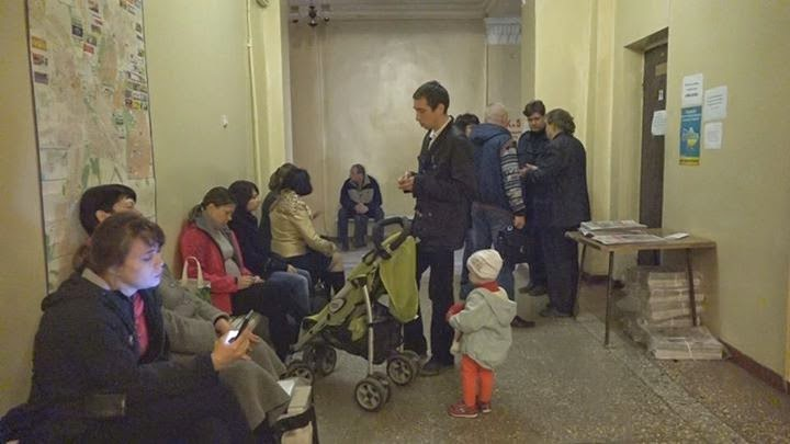 Краматорский штаб помощи вынужденным переселенцам