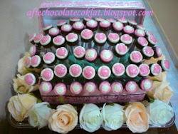 CHOC BOX BOUQUET ROSE @RM150